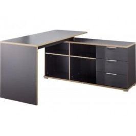 Kancelářský stůl s regálem Germania 4081 (Antracit)  4081 GERMANIA