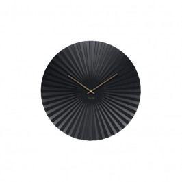 Nástěnné hodiny Trivet, 50 cm, černá Stfh-KA5658BK Time for home+