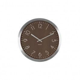 Nástěnné hodiny Charles, 60 cm, tmavé dřevo tfh-KA5608DW Time for home