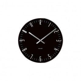 Nástěnné hodiny Vass, 40 cm, černá Stfh-KA4922 Time for home+