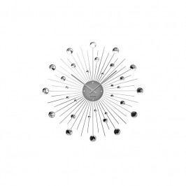 Nástěnné hodiny Espirio 50 cm, stříbrná Stfh-KA4859 Time for home+