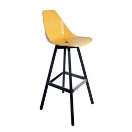 Barová židle X Stool H 760, žlutá S4062LE16YC16 Alma Design