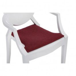 Podsedák na židli Ghost, tmavě červená 78971 CULTY