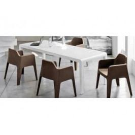 Rozkládací stůl EXTESO 90-278x90 cm (Bíle lakované dřevo)  EXTESO700 Pedrali