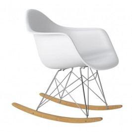 Designové houpací křeslo RAR, bílá 62488 CULTY