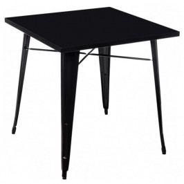 Jídelní stůl Tolix 76x76, černá 72921 CULTY