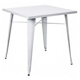 Jídelní stůl Tolix 76x76, bílá 72924 CULTY
