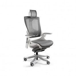 Designová kancelářská židle Master E03, síťovina (Bílá)  UN:813 Office360