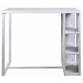 Barový stůl Garny 120 cm, bílá SCHDN0000060822 SCANDI