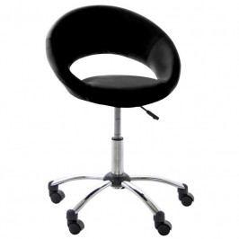 Kancelářská židle Sunny, ekokůže, černá SCHDN0000061285 SCANDI