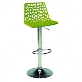 Barová židle Coral, zelená SC01_VA Sit & be