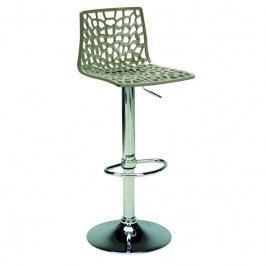 Barová židle Coral, šedá SC01_GP Sit & be