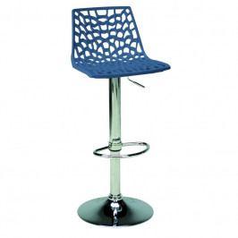 Barová židle Coral, modrá SC01_BA Sit & be