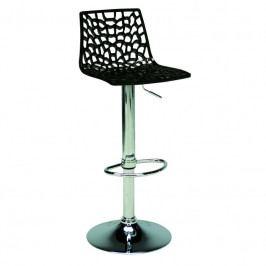 Barová židle Coral, černá SC01_NE Sit & be