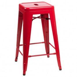Barová židle Tolix 75, červená 64233 CULTY