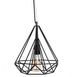 Závěsné světlo Wire 30 cm, černá 62655 CULTY