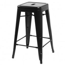 Barová židle Tolix 75, černá 64183_75 CULTY +