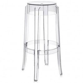 Barová židle Ghost 75, transparentní 3350 CULTY