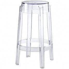 Barová židle Ghost 66, transparentní 3458 CULTY