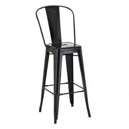 Barová židle Tolix, černá 41431 CULTY