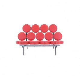 Designová pohovka Marshmallow Sofa, červená 13962 CULTY