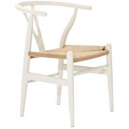 Dřevěná židle Bounce, bílá 14255 CULTY