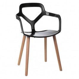 Jídelní židle One plus, černá 41975 CULTY