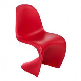 Jídelní židle Pantom, červená 112729 CULTY