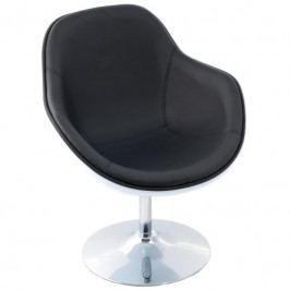 Designové otočné křeslo MARCO, bílá/černá 24451 CULTY