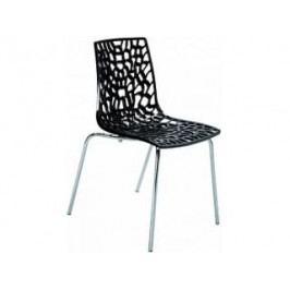 Jídelní židle Coral-D (Černá)  SC04 Sit & be