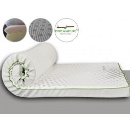 DREAMPUR Vrchní matrace (přistýlky) z latexové pěny DREAMPUR® grey dots 8,5 cm - 80x200 cm | 1+1 zdarma (2ks)