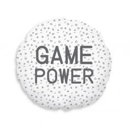 TODAY KIDS semišový polštářek  Geek Game průměr 40 cm - Power game
