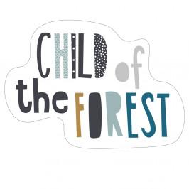 TODAY KIDS dětský polštářek Child of the Forest 40x25 cm