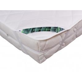 2G Lipov Chránič matrace Bamboo z přírodních vláken - 90x220 cm
