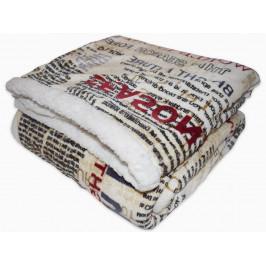 Homeville deka mikroplyš s beránkem 150x200 cm Novinové články