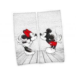 Herding Set osušek Minnie & Mickey Mouse 80x180 cm - 2 ks