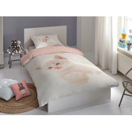Good Morning Povlečení Good Morning 100% bavlna Catty 140x200/70x90 cm