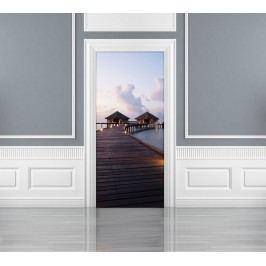 1Wall 1Wall fototapeta Domečky na moři 95x210 cm