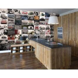1Wall 1Wall Kreativní koláž 64 dílů 37,5 x 27,5cm Volkswagen
