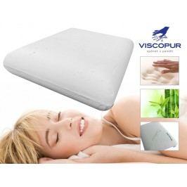 VISCOPUR Anatomický polštář VISCOPUR® bamboo neprofilovaný 40x60cm