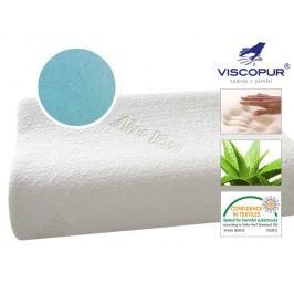 VISCOPUR Anatomický polštář VISCOPUR® MEMO-GEL Aloe profilovaný - 30x50 cm