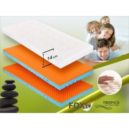 Tropico Dětská matrace Tropico FOXÍK visco 14cm - 80x200 cm | 1+1 zdarma (2ks) | 14 cm | CLASSIC (bez profilace)