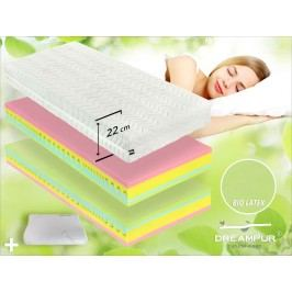 DREAMPUR Ortopedická latexová matrace Dreampur® RAINDROP 22cm - 90x220 cm | 1ks