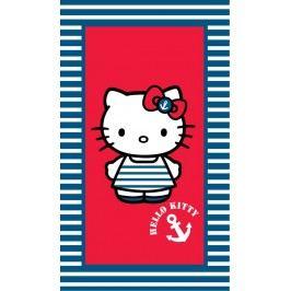 CTI Osuška Hello Kitty námořnice 75x150 cm