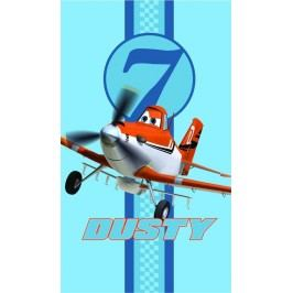 CTI Osuška Letadla (Planes) modrá Skies calling 70x120