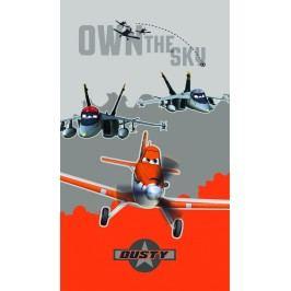 CTI Osuška Letadla (Planes) oranžová 70x120 cm
