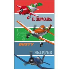 CTI Osuška Letadla (Planes) proužky 70x120