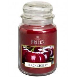 Price´s SIGNATURE MAXI svíčka ve skle Černá třešeň, hoření 150h