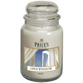 Price´s SIGNATURE MAXI svíčka ve skle Otevřené okno, hoření 150h