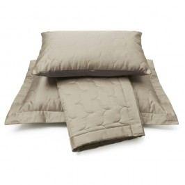 Vandyck Vandyck Luxusní saténový přehoz na postel Sand - písková - 260x260 cm